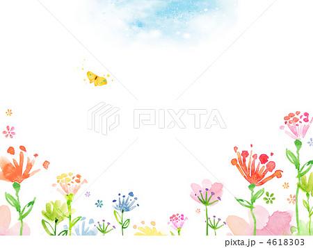 春の花11288047jyaのイラスト素材 4618303 Pixta