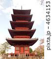 五重塔 寺 塔の写真 4634153
