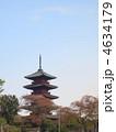 五重塔 寺 塔の写真 4634179