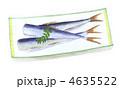 ままかり ママカリ 郷土料理のイラスト 4635522