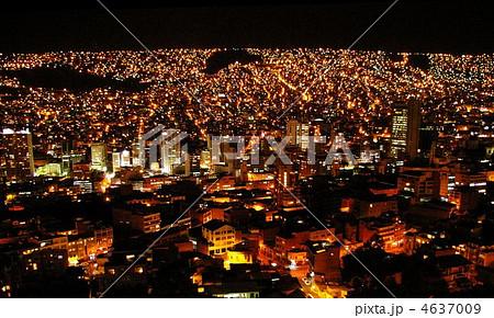 ラパスの夜景 4637009