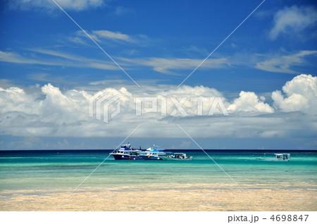 石垣島、底地ビーチからの風景 4698847