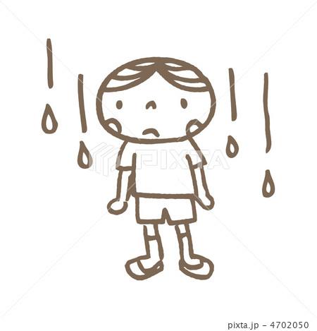 雨降りと子供 4702050