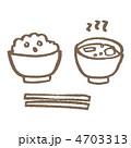 みそ汁 みそしる お味噌汁のイラスト 4703313