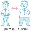 太った男性 4709618