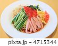 麺類 冷やし中華 冷麺の写真 4715344