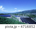 メガソーラーパネル発電 4716852