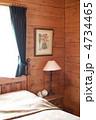 木の壁 ルームライト ベッドサイドの写真 4734465