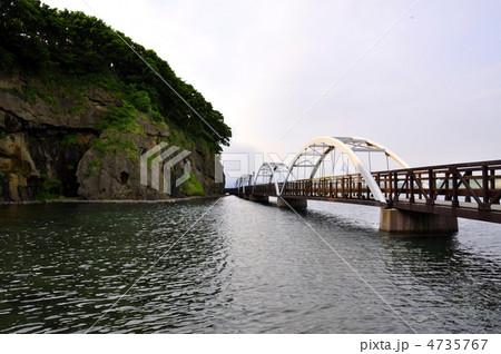 海にかかる橋 4735767