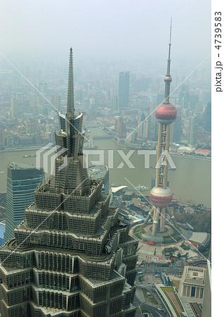 上海ジンマオタワーの写真素材 [...