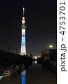 スカイツリー 東京スカイツリー 電波塔の写真 4753701