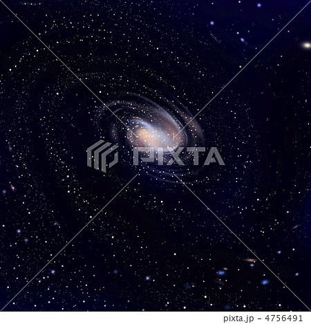 広がる銀河 4756491