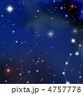 銀河 北極星 北斗七星のイラスト 4757778