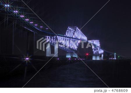 東京ゲートブリッジ・ライトアップ 4768609