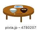 日本食 食卓 食事のイラスト 4780207