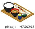 サンマ 定食 さんまのイラスト 4780298