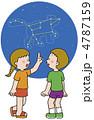 少女 男子 ベクターのイラスト 4787159