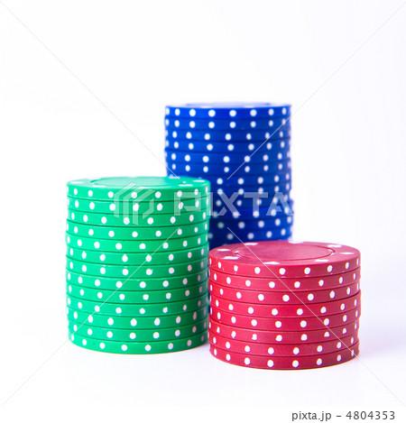 poker chipsの写真素材 [4804353] - PIXTA