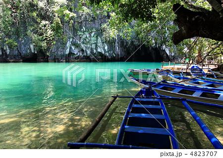 フィリピン世界遺産プエルト・プリンセサ地底河川国立公園 4823707
