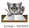 子猫 猫 動物のイラスト 4825626
