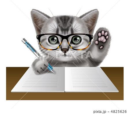 子猫のイラスト素材 4825626 Pixta