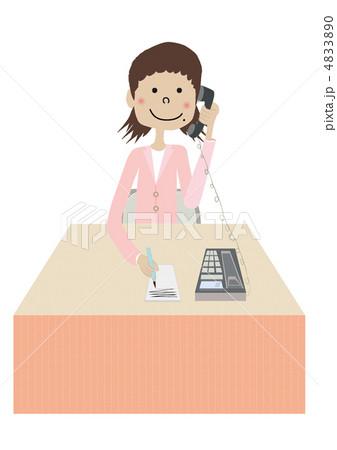 女性電話受付 4833890