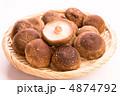 生しいたけ 生椎茸 生シイタケの写真 4874792