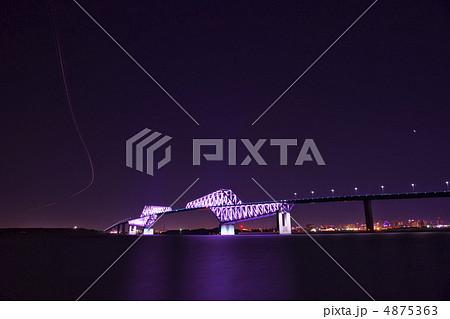東京ゲートブリッジ・ライトアップ 4875363