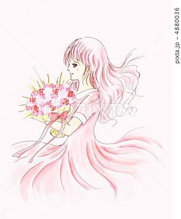 花のイラスト『花束』/無料のフリー素材集【百花 …