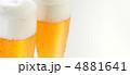 麦酒 グラスビール アルコールの写真 4881641