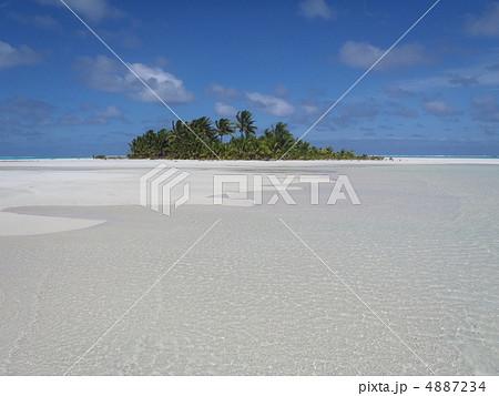 クック諸島、アイツタキ島のハネムーンアイランド 4887234