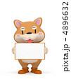 犬 動物 いぬのイラスト 4896632