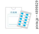 内服薬 薬品 医薬品のイラスト 4899829