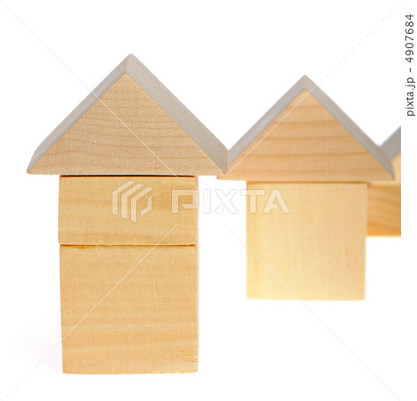 The wooden houseの写真素材 [4907684] - PIXTA