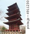 本門寺 池上本門寺 五重の塔の写真 4911230