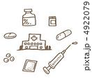 飲薬 くすり 薬のイラスト 4922079