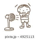 扇風機と少年 4925113
