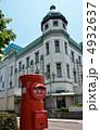 旧八十五銀行本店本館 埼玉りそな銀行川越支店 丸ポストの写真 4932637