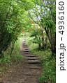 ハイキングコース 登山道 山道の写真 4936160