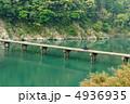 沈下橋 四万十川 清流の写真 4936935