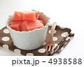 果物 カットフルーツ 西瓜の写真 4938588