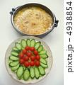 野菜サラダと煮物 4938854