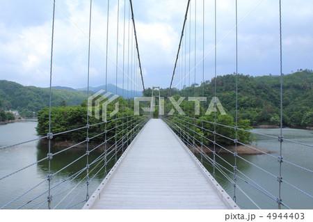 白椿大橋 吊り橋 吊橋 島根県 4944403