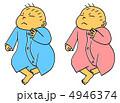 乳児 男の子 赤ちゃんのイラスト 4946374