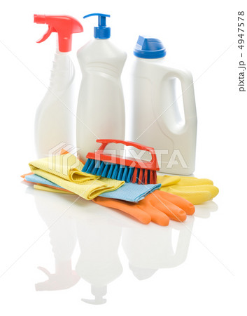 collection of  objects for cleaningの写真素材 [4947578] - PIXTA