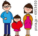 家族 お父さん お母さんのイラスト 4953450