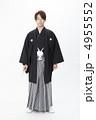 和装 袴 紋付の写真 4955552
