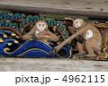 聞かざる 見ざる 三猿の写真 4962115