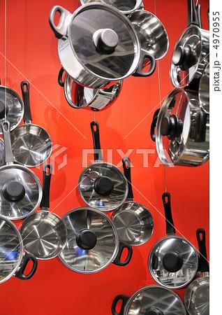 鍋のディスプレイ 4970955