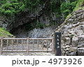 玄武洞公園の柱状節理(兵庫県豊岡市) 4973926